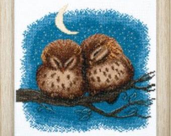Cross Stitch Kit Owlet