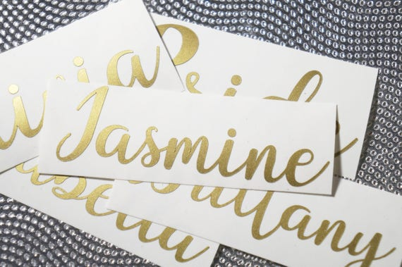 Personalized Name Sticker Wedding Invitation Seal Paper Etsy