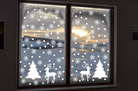 image 0 - Christmas Window Stickers