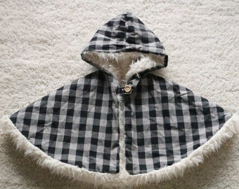 Baby Kids Clothing Reversible Cape