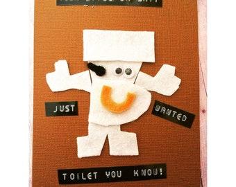 Toilet paper pun | Etsy