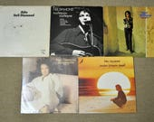Lot of 5 - Neil Diamond, Shilo, Touching You, Touching Me, Rainbow, 12 Greatest Hits(Vol.2), OST-Jonathan Livingston Seagull