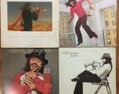 Jazz LP - Lot of 4 x Chuck Mangione, Children of Sanchez, Fun and Game, Feels so Good, Chuck Mangione Quartet