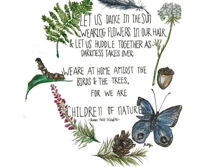 Children of Nature Print