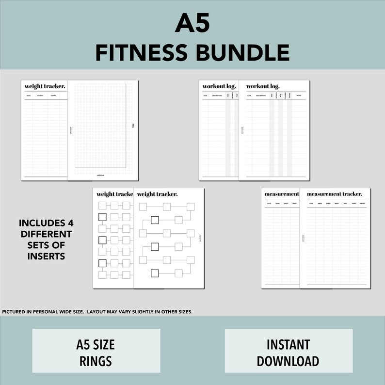A5 RINGS Fitness Bundle image 0