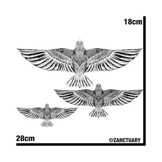 Eagle Temporary Tattoo Eagle Tattoo Eagle Fake Tattoo Hawk Tattoo Bird Tattoo Chest Tattoo Faux Tatouage Temporaire Homme Tätowierung