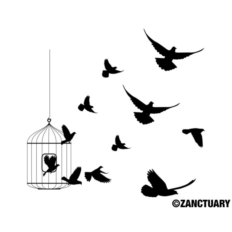 c9d9d3bfb Bird Temporary Tattoo Bird Tattoo Flying Bird Tattoo Free Bird | Etsy