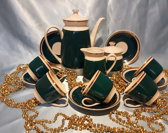 Bulgaria porcelain Coffee set 13 pieces  very beautiful