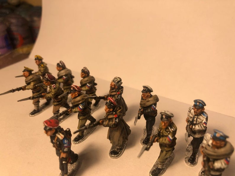 White Russian Infantry 28mm RUSSIAN CIVIL WAR