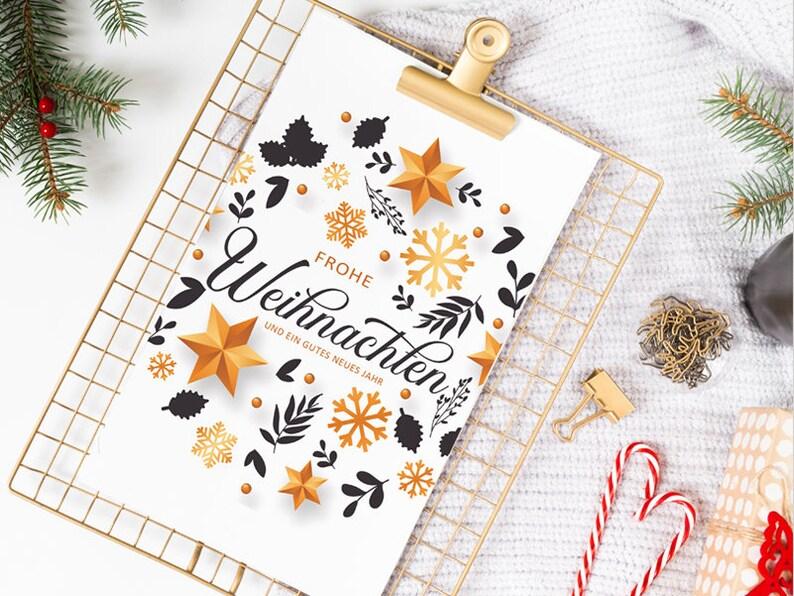 CHRISTMAS CARD  Christmas  X-Mas  Gift  Happy Feast  XMAS image 0