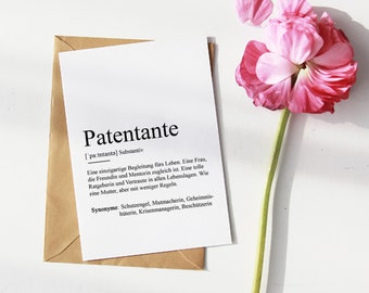 """MAP """"PATENTANTE"""" 