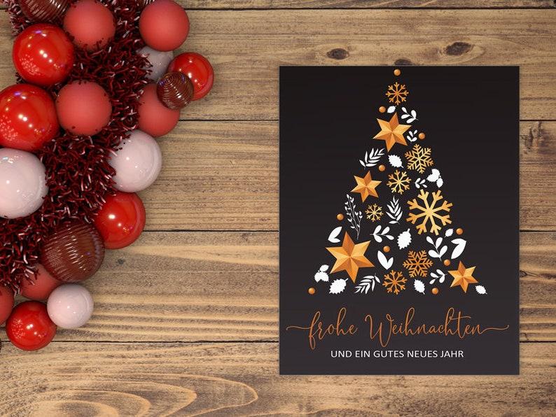CHRISTMAS CARD  Christmas  X-Mas  Gift  Folding card  image 0