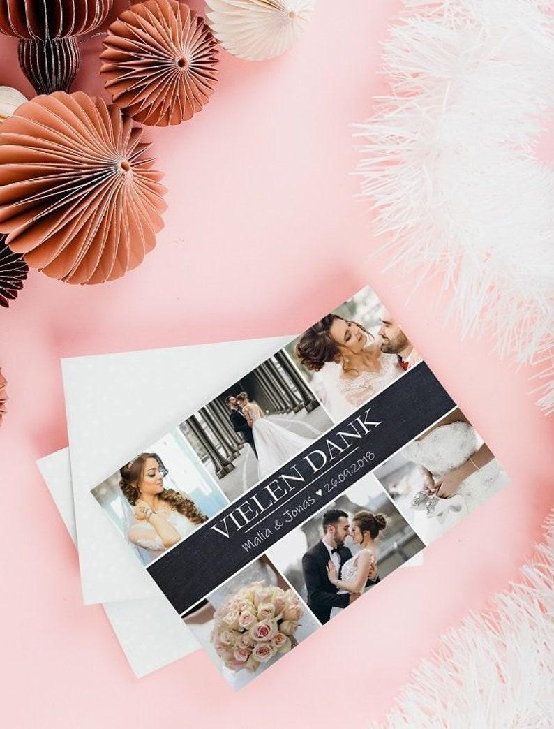 THANK YOU HOCHZEIT  Thanksgiving Wedding  Personalised  image 0