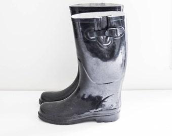 bd66215b1a3 Vintage rain boots   Etsy