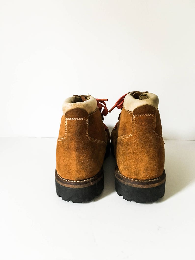 241f4c59c5c5 Men s Sears vintage Hiking boots 11D Sears brown leather