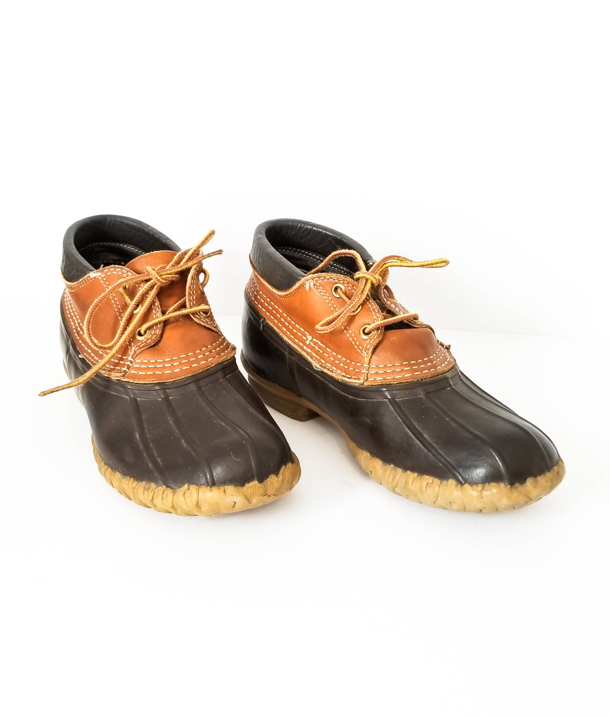 LL Bean Women's Duck Boots Size 8 Classic Bean Low Ankle