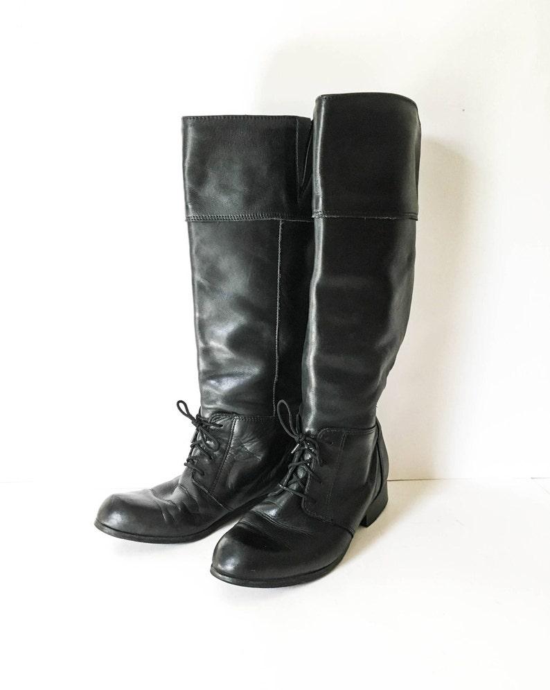 e2e65c18b3527 Bottes en cuir de Blondo Black femmes équitation 8 b noir