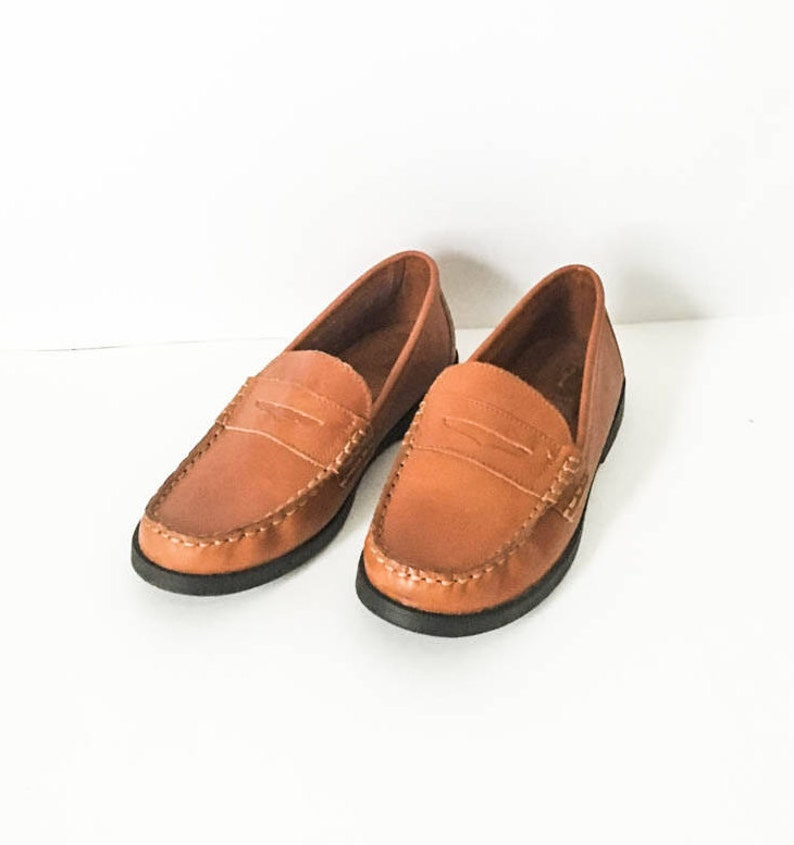 6b2842af66d Cole Haan women s brown leather Penny loafers sz 5