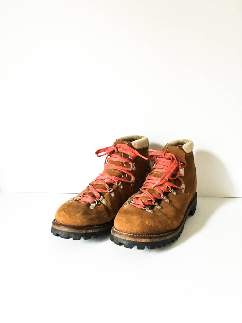 5bce967c288 Men s Sears vintage Hiking boots 11D Sears brown leather