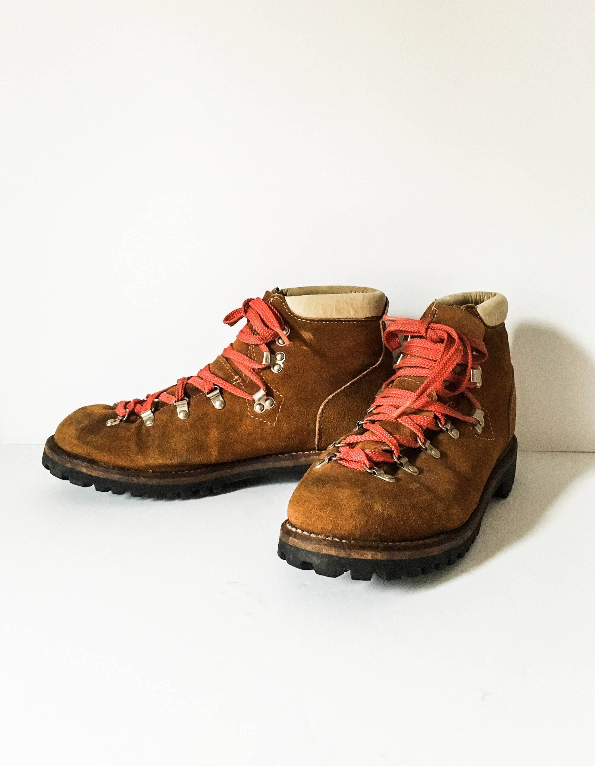 68774a4d09b Men s Sears vintage Hiking boots 11D Sears brown leather