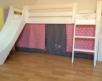 Etagenbett Vorhang Set Mädchen : Vorhang fuer hochbett etsy