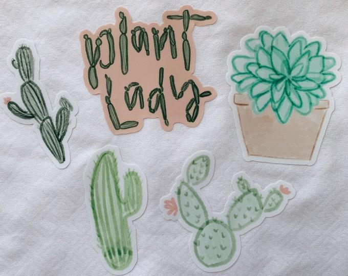 Plant Lady Sticker Bundle