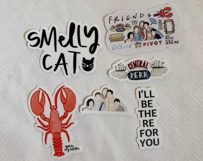 FRIENDS Sticker Bundle