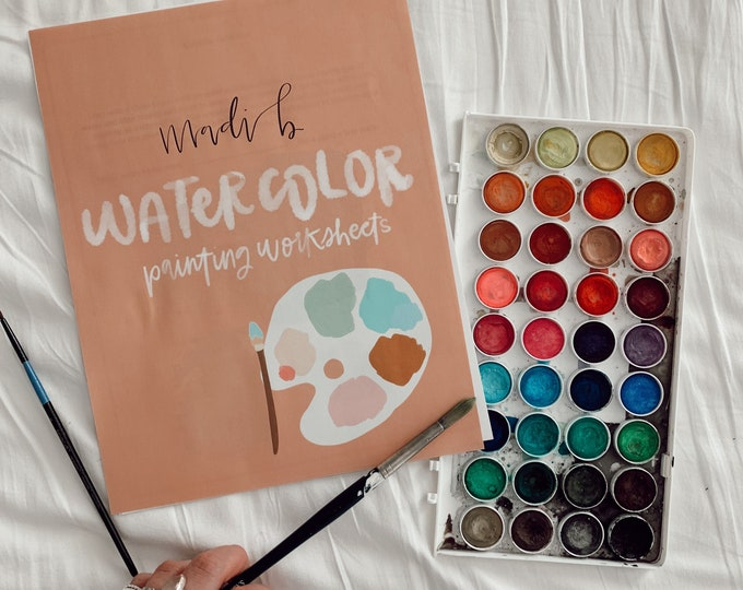 Watercolor Painting Worksheets