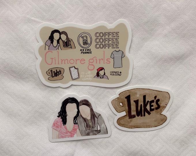 Gilmore Girls Sticker Bundle