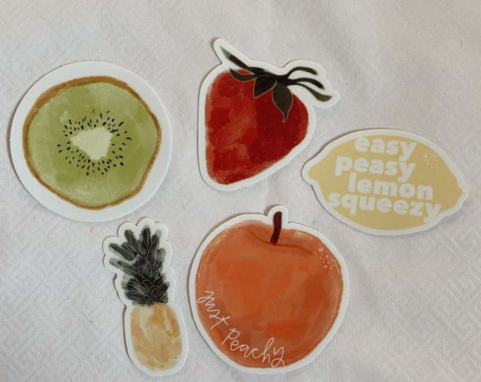 Fruit Sticker Bundle