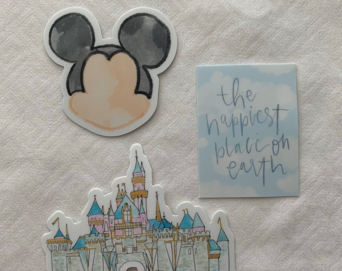 Disney Sticker Bundle