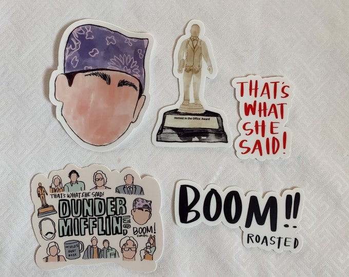 The Office Sticker Bundle