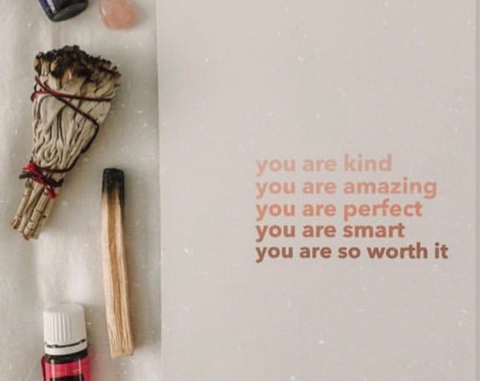 You are so worth it print