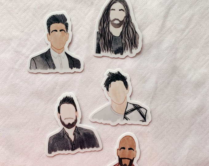 Queer Eye Sticker Bundle