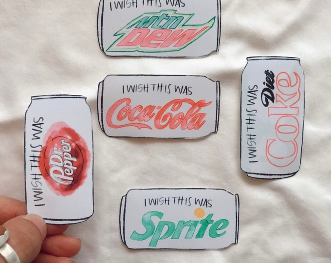 Soda Stickers