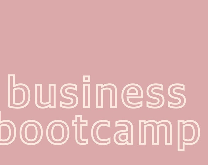 Business Bootcamp FLASH SALE