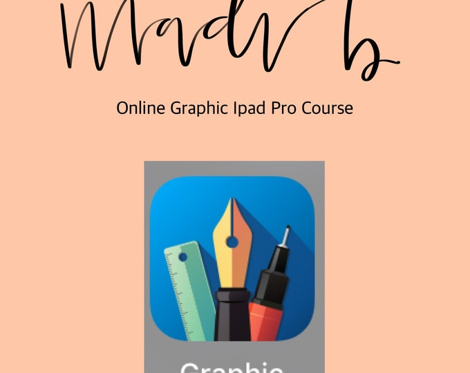 Online Graphic IPad Pro Course