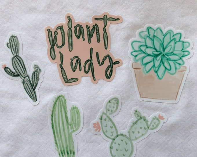 Plant Lady Sticker Bundle