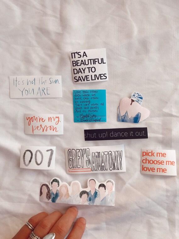 Greys Anatomy Sticker Bundle