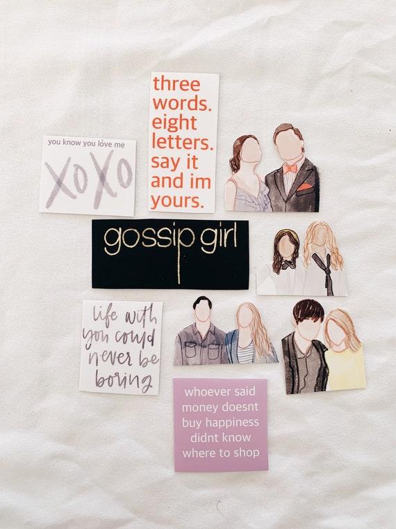 Gossip Girl sticker bundle