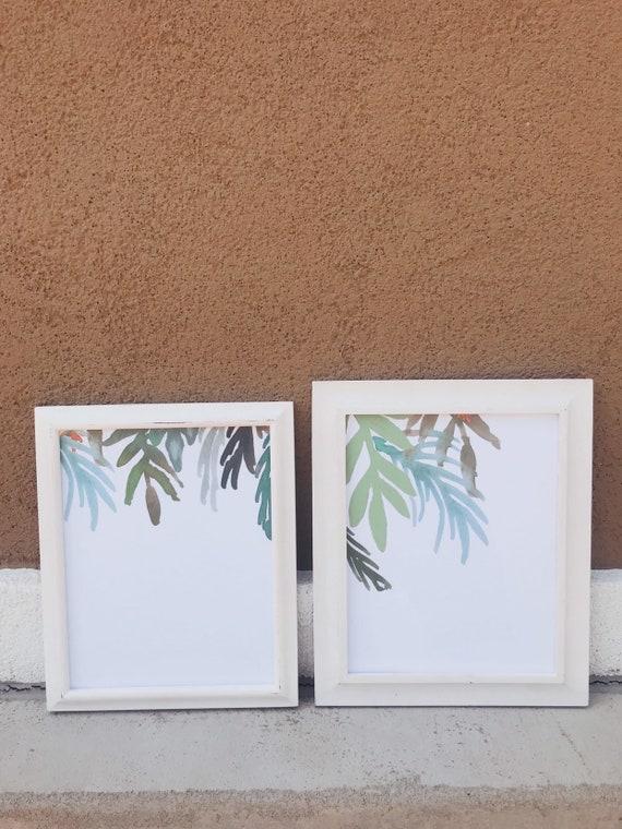 Tropical Print Set