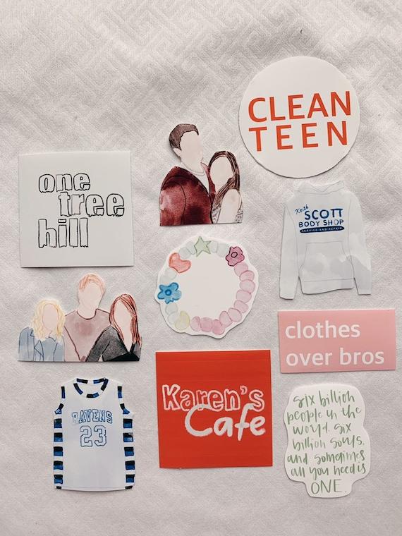 One Tree Hill Sticker Bundle