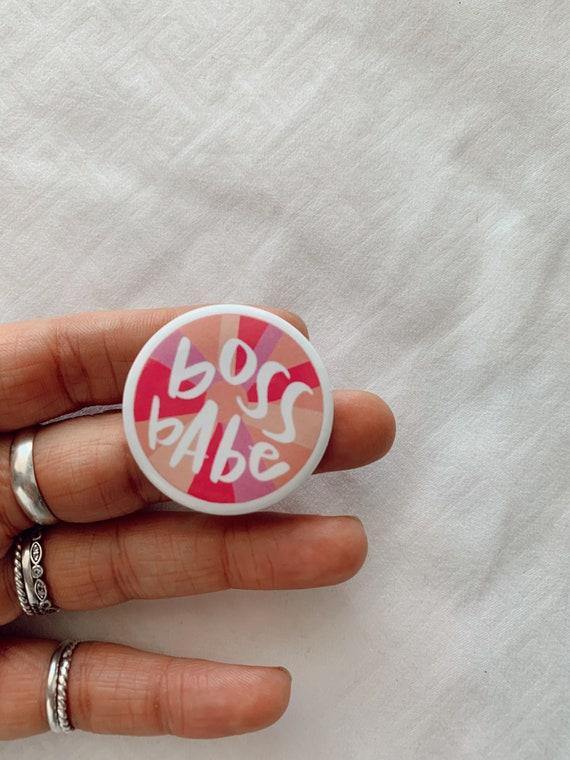 Boss Babe Pin