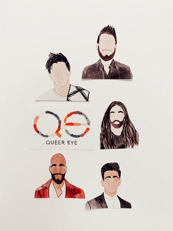 Queer Eye Sticker Bundle