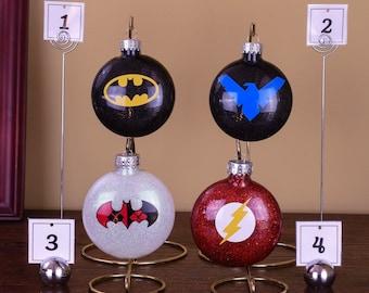 DC Comics Christmas Ornaments