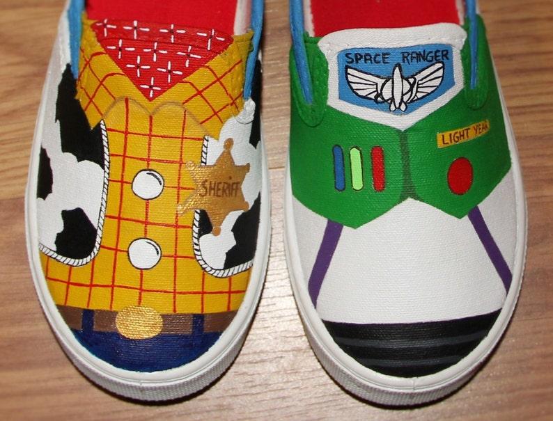 6c36995325 Toy Story woody buzz lightyear Disney kids boys girls Custom