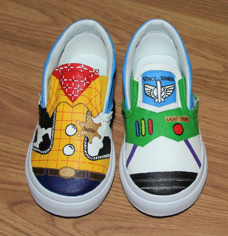 6656bc28ff VANS Toy Story woody buzz lightyear Disney KIDS boys