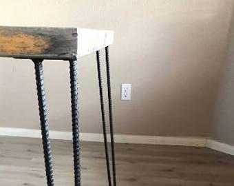 Custom Rebar Straight Hairpin Legs 3/8 Inch Or 1/2 Inch Free Shipping Set  Of 4 Table Legs Coffee Table Legs Steel Legs Furniture Legs