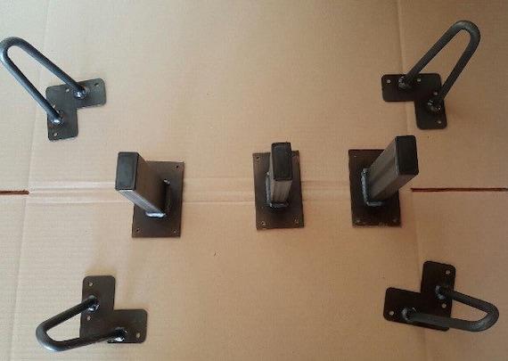 Diy Platform Bed Frame Kit Free Shipping 7 Piece Kit Steel Bed Etsy