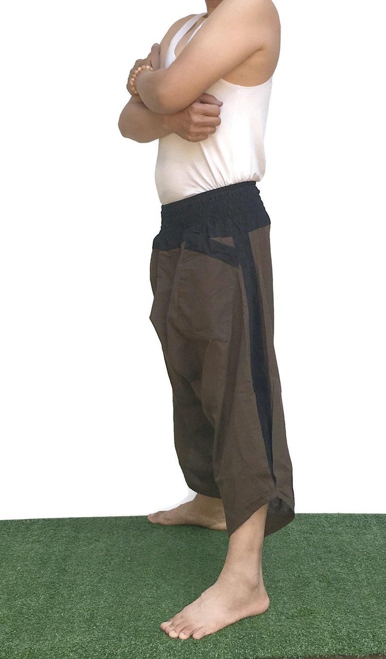 japanese clothes Japanese fashion Thai fisherman pants Japanese pants Thai pants Ninja pants Elephant pants Harem trousers Harem pants  Boho